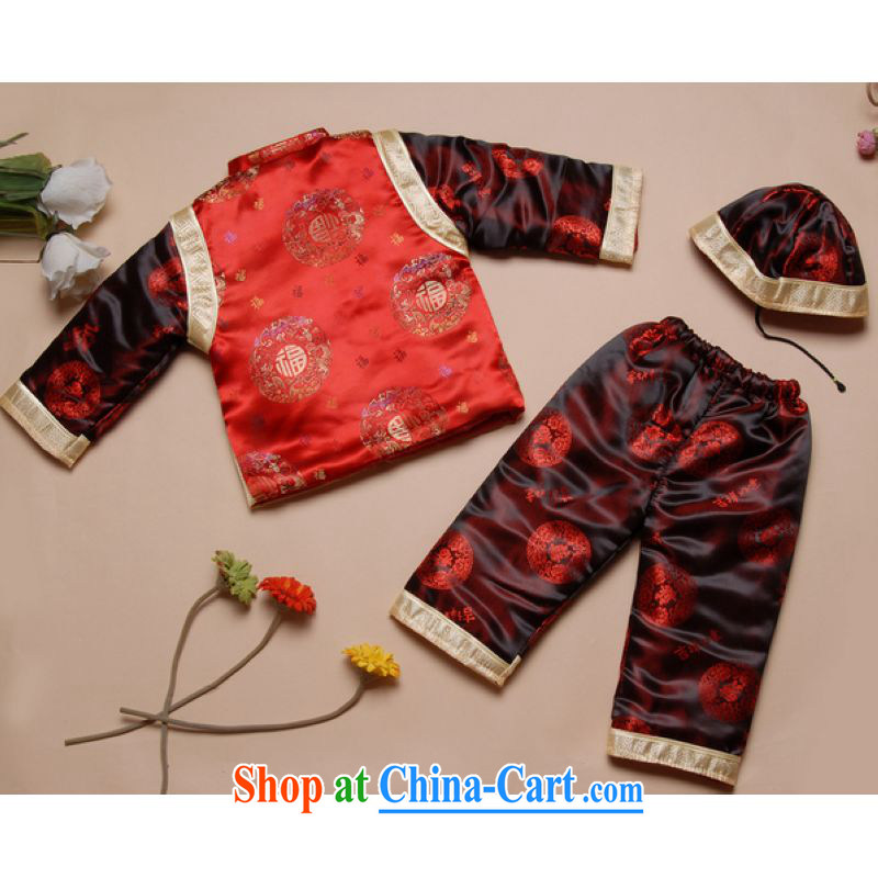 And Jing Ge fall and winter Chinese new children's Chinese parka brigades