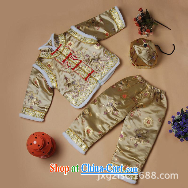 Shanghai, optimize purchase winter Chinese New children's Chinese parka brigades