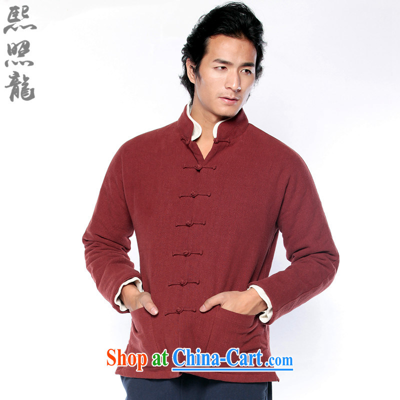 Mr Chau Tak-hay, snapshot stone washed cotton Ma winter clothing men's long-sleeved Chinese countrysides Chinese removable live, for parka brigades