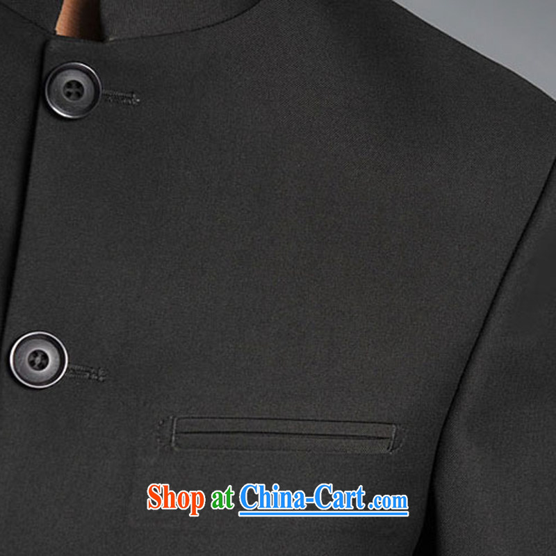 Bin Laden's (DAINSIDON) autumn and winter men's Chinese and smock for stylish ethnic Chinese Chinese student and youth with the bridegroom marriage suits black smock L, Dan Sai (DAINSIDON), online shopping