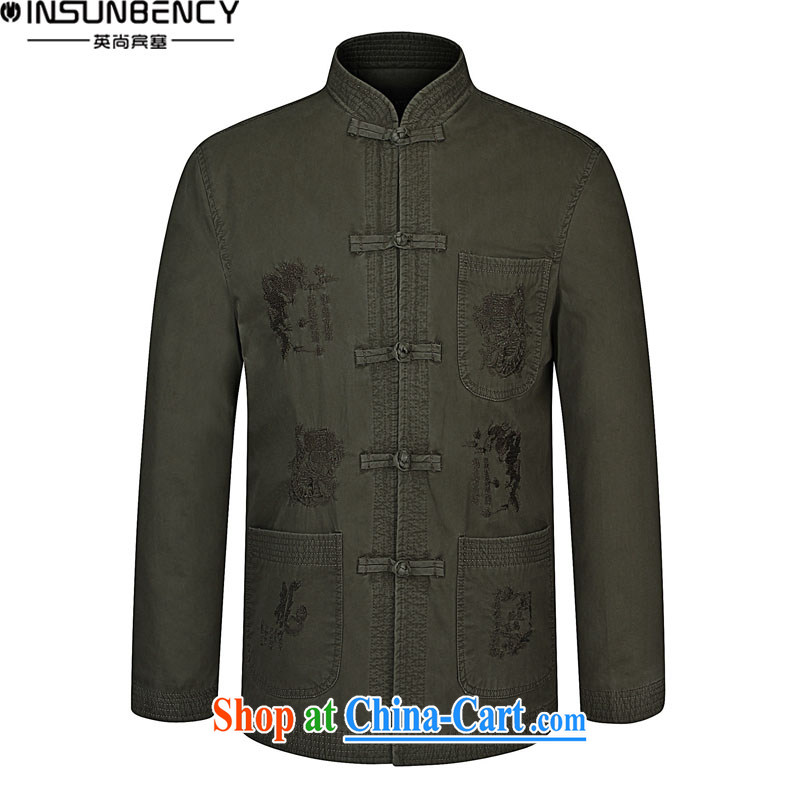 The British still Spencer 2015 spring new, older men's business and leisure Chinese Embroidery, for larger jacket Z pickles 03 190