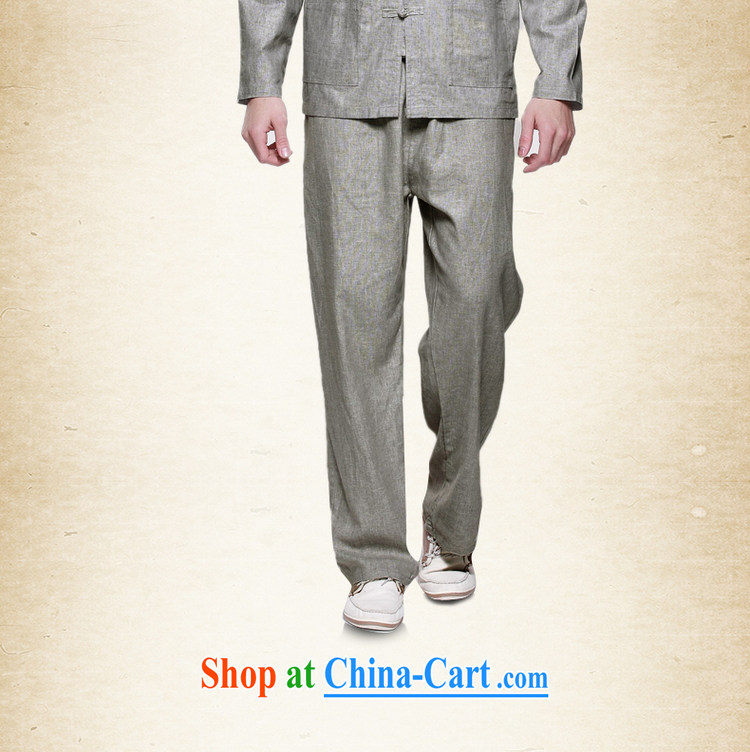 cool ocean 2015 spring men's linen trousers China wind male Tang pants Chinese Spring and Summer comfort and breathability men's trousers 100 ground, elasticated waist with drawcord m yellow (trousers) 41/175 pictures, price, brand platters! Elections are good character, the national distribution, so why buy now enjoy more preferential! Health