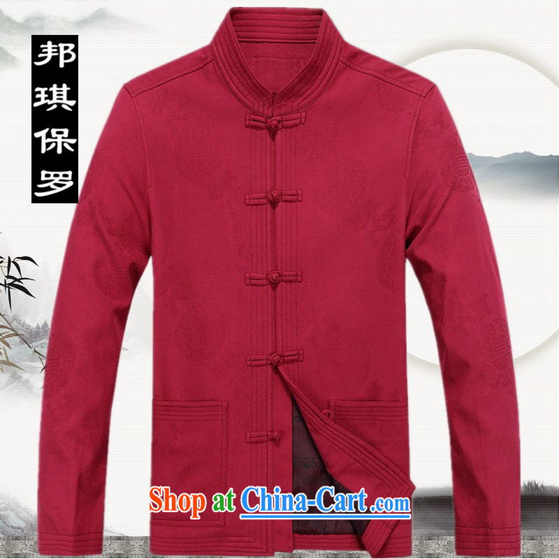 Bong-ki Paul 2014 autumn and winter in older Chinese men's parka brigades