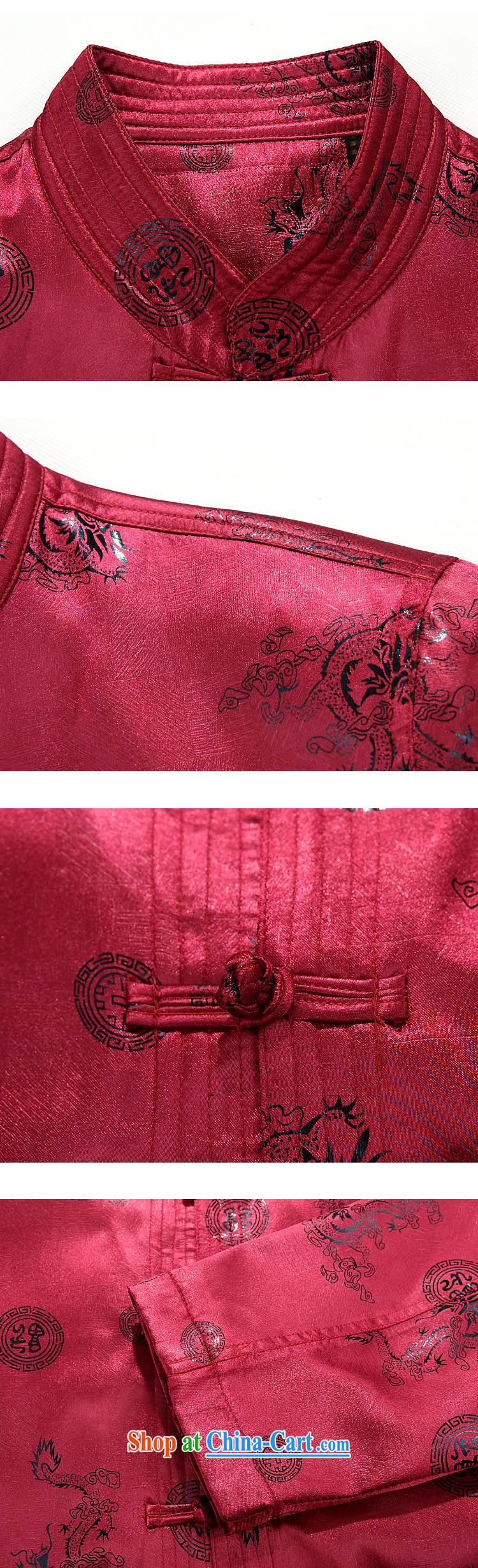 Bong-ki Paul 2014 autumn and winter thick, older Chinese men's jacket older persons Chinese jacket large, father of the China wind Tang jackets red XXXL pictures, price, brand platters! Elections are good character, the national distribution, so why buy now enjoy more preferential! Health