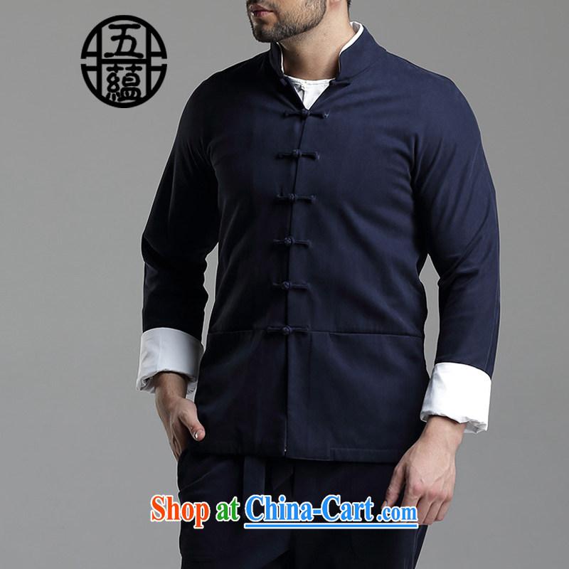 The TSU defense (Azouari) China wind men's leisure, for Tang jacket dark gray XXL, Cho's (AZOUARI), online shopping