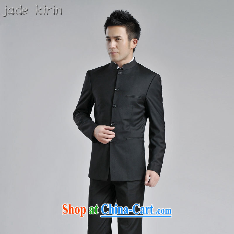 Youth smock package men and Chinese Wind and South Korea was a perfect combination with the Chinese Government for Korean Beauty groom's wedding performances ZS serving 120,101 black 175/XL