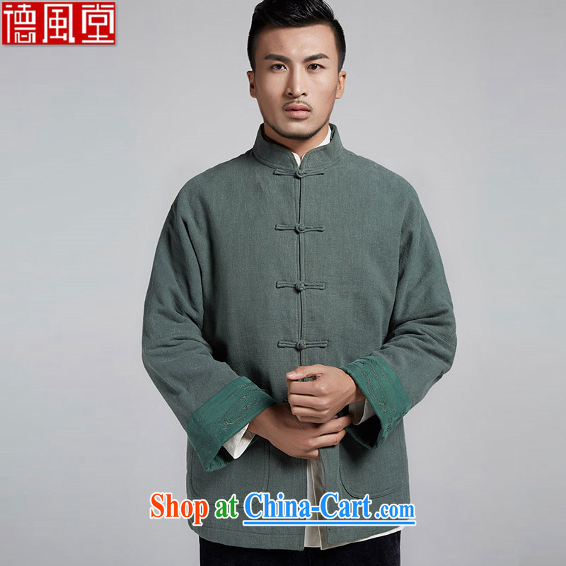 De wind the privacy Chinese improved ability color flip cuff men's Chinese in parka brigades
