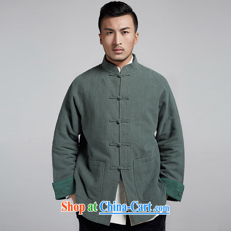 De wind the privacy Chinese improved color varies depending on the cuff men's Chinese in parka brigades