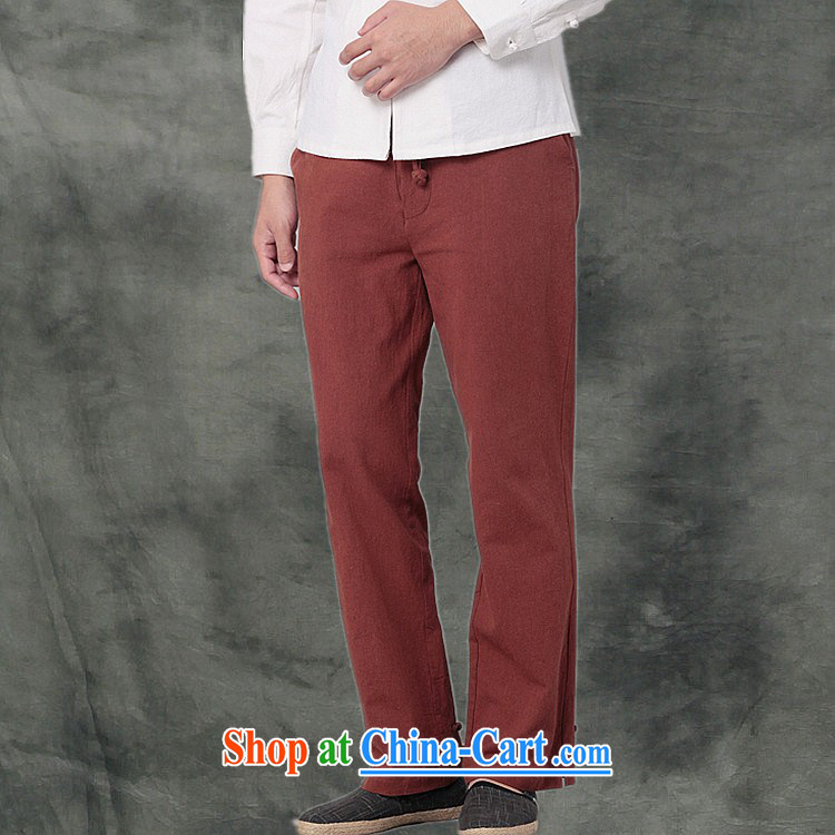 Hee-snapshot Kowloon Yau Ma Tei Cotton Men's casual pants Chinese, sporting a Kung Fu pants and casual loose Tang male white XL pictures, price, brand platters! Elections are good character, the national distribution, so why buy now enjoy more preferential! Health