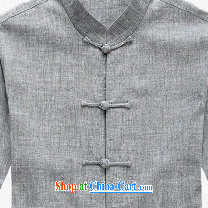 That is, men's cotton Yau Ma Tei cuff on Tang replace Kit men's Chinese, manually for the tie long-sleeved Tang mounted package units on the cuff Leisure package how many optional package dark gray XXXL/190, and mobile phone line (gesaxing), and, on-line