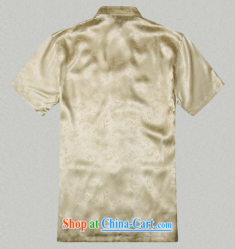 Jack And Jacob - Wolf JIEYA - WOLF new Chinese men's short-sleeved summer silk Golden Dragon figure handcrafted Tray Port Tai Chi set, pants white shirt A 185/XXL pictures, price, brand platters! Elections are good character, the national distribution, so why buy now enjoy more preferential! Health