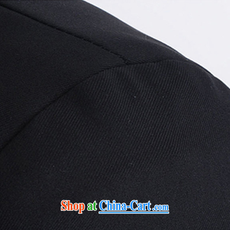 Silver armor smock men Korean Sun Yat-sen suit blood College clothing China wind male black S, silver armor, and, shopping on the Internet