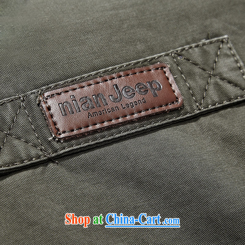 Jeep shield spring New Products men's long jacket pocket more than the comfortable cotton washable 3392 card its color XXXL, Roma shields, shopping on the Internet