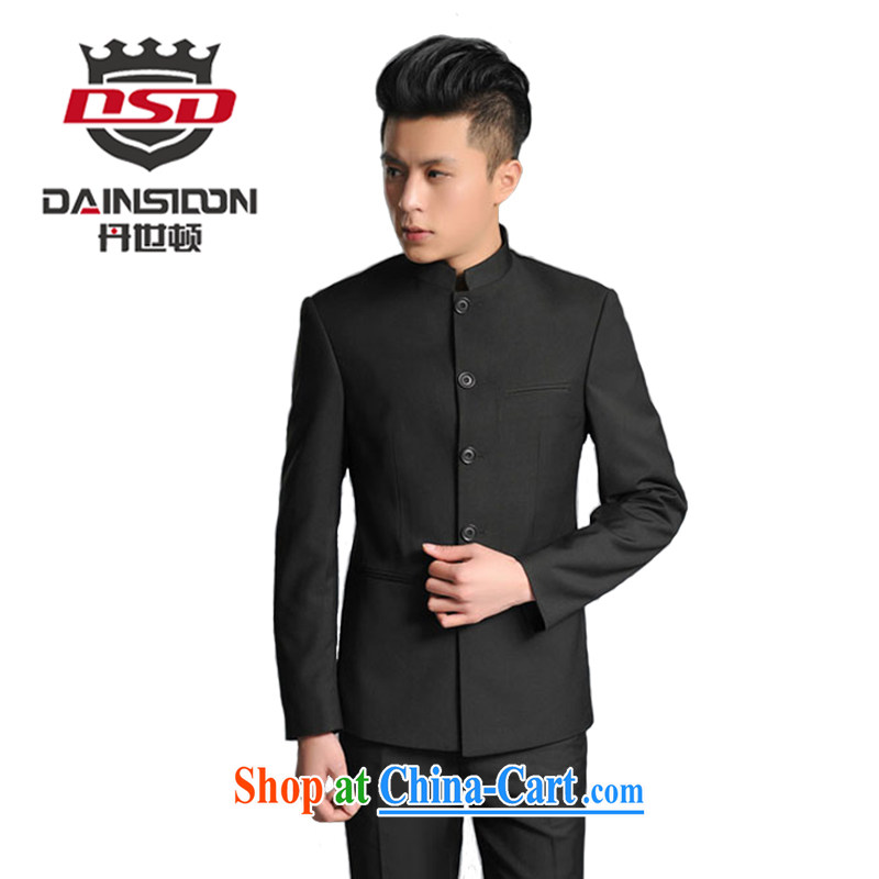 Dan's (DAINSIDON) Spring and Autumn and new male Korean beauty and smock for Chinese Chinese Chinese, for youth with black smock XXXL