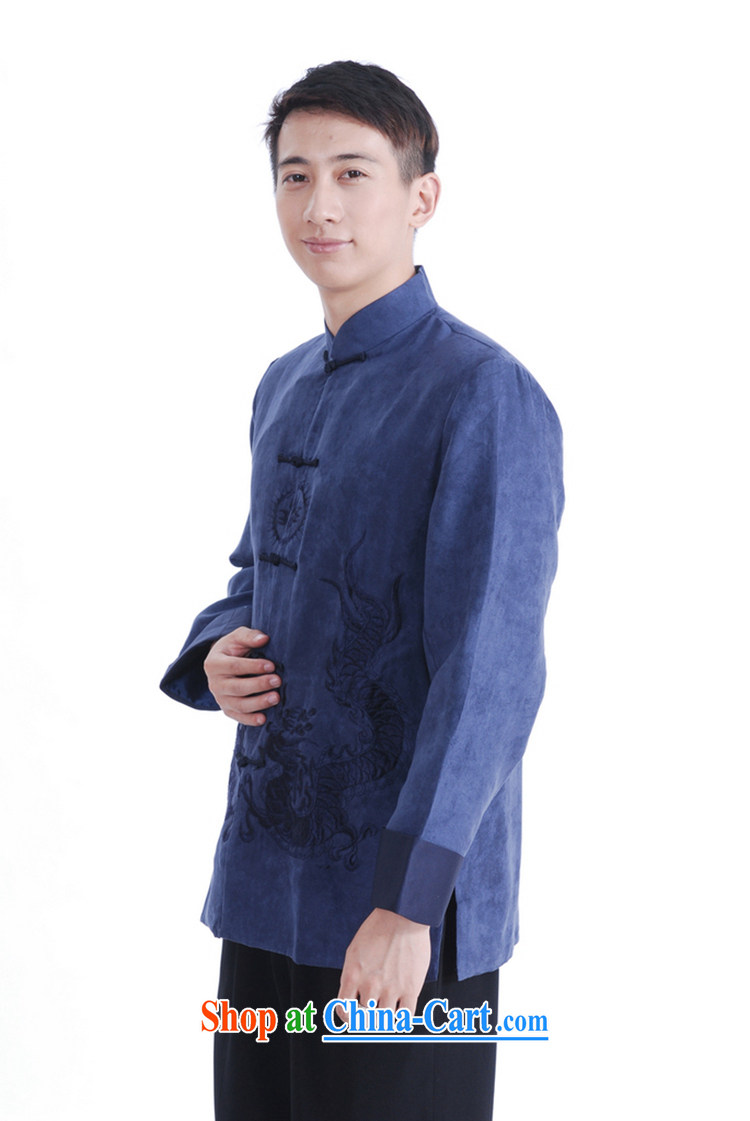 According to fuser spring new male Chinese Antique Ethnic Wind double-lung embroidered Dad replace Tang jackets LGD/M 1150 # Tsing XXXL pictures, price, brand platters! Elections are good character, the national distribution, so why buy now enjoy more preferential! Health