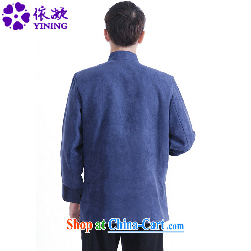 According to fuser spring new male Chinese Antique Ethnic Wind Ssangyong embroidered Dad loaded Tang jackets LGD/M 1150 # XXXL Cheong Wa Dae, fuser, and shopping on the Internet