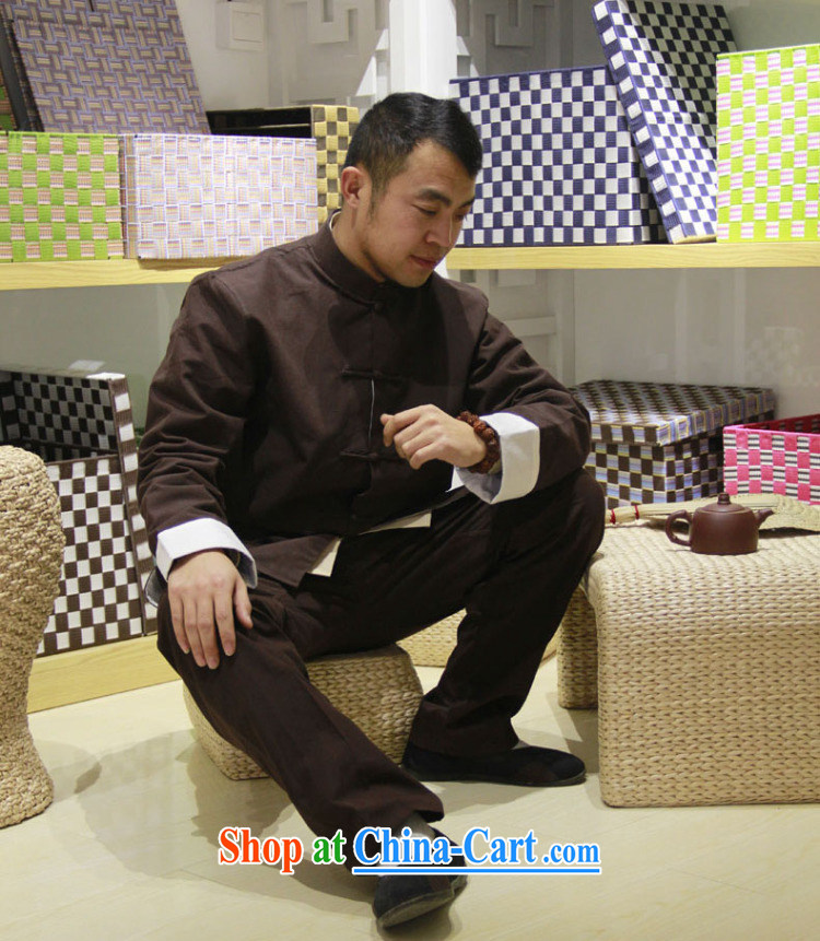 cubufq pure cotton double Chinese Chinese men and replace the snap-china wind Chinese men's long-sleeved jacket spring Han-cynosure of serving gray 175/41 pictures, price, brand platters! Elections are good character, the national distribution, so why buy now enjoy more preferential! Health
