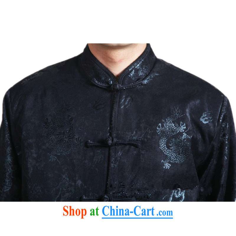 According to fuser new male Ethnic Wind improved Chinese qipao has been hard-pressed suit with his father Tang with long-sleeved T-shirt jacket costumes WNS/2317 # 1 #3 XL, fuser, and shopping on the Internet