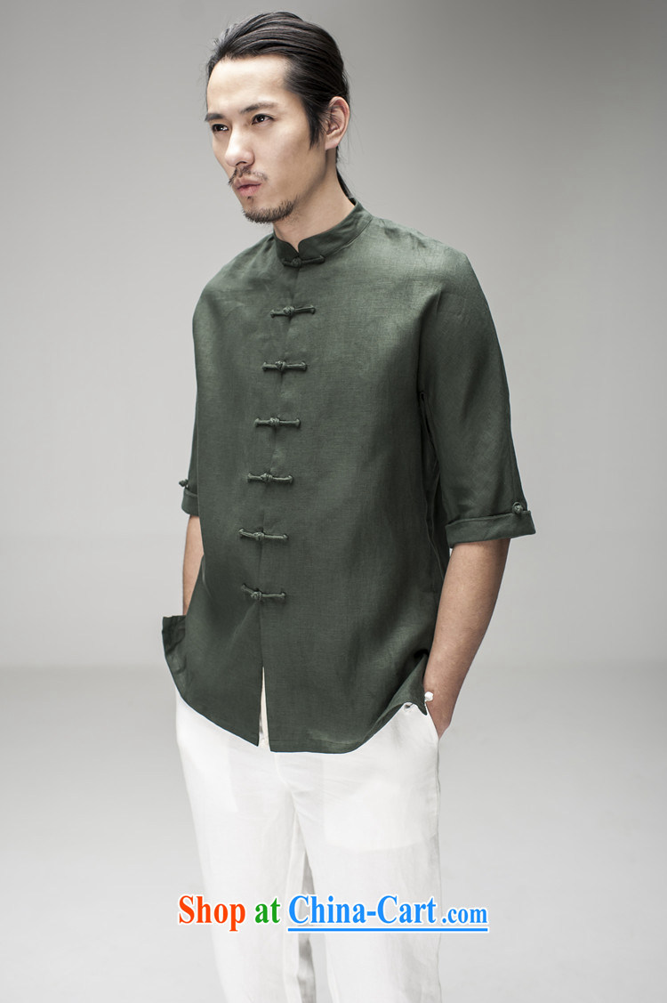 Hee-snapshot Dragon Chinese men and summer short-sleeved Chinese, for plain linen shirt China wind men's men's costumes clothing black M pictures, price, brand platters! Elections are good character, the national distribution, so why buy now enjoy more preferential! Health