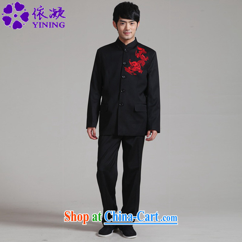 According to fuser new male daily improved Tang fitted smock antique ethnic-Chinese package costumes WNS/2351 kit # 2 #3 XL