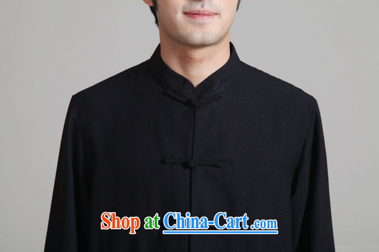 According to fuser new man retro improvement of ethnic-Chinese long-sleeved T-shirt + pants Tang replace Kit Kung Fu Tang replace WNS/2352 package - 2 #3 XL pictures, price, brand platters! Elections are good character, the national distribution, so why buy now enjoy more preferential! Health