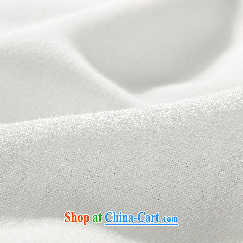 the Lhoba people, evergreens and China wind men Chinese men's short-sleeve kit Dad spring and summer load T-shirt shirt and pants older people in summer, shirt for Grandpa summer white 175, the Lhoba people, evergreens (B . L . WEIMAN), online shopping