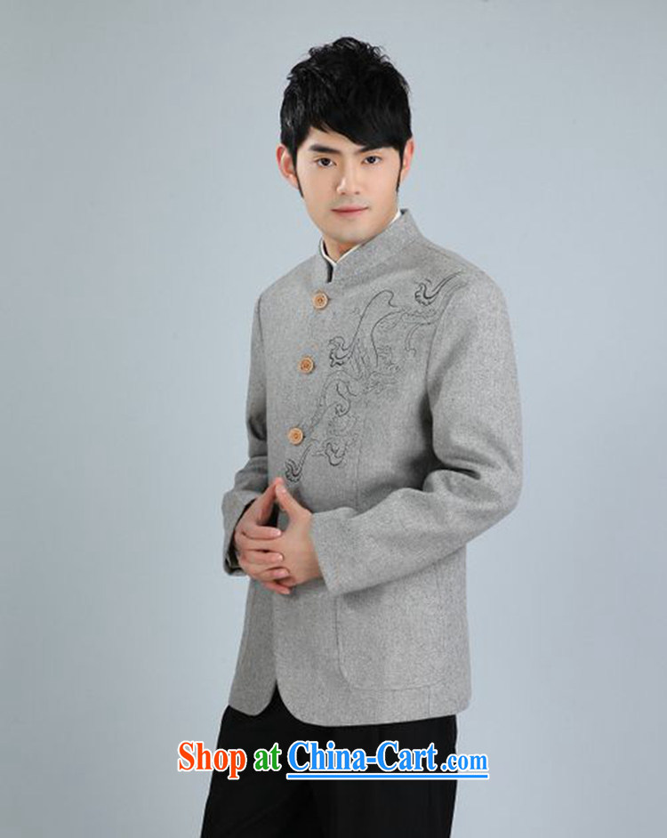 According to fuser spring stylish new men's smock, for single-tie suit with Father Tang jackets WNS/2353 #3 - 3 #3 XL pictures, price, brand platters! Elections are good character, the national distribution, so why buy now enjoy more preferential! Health