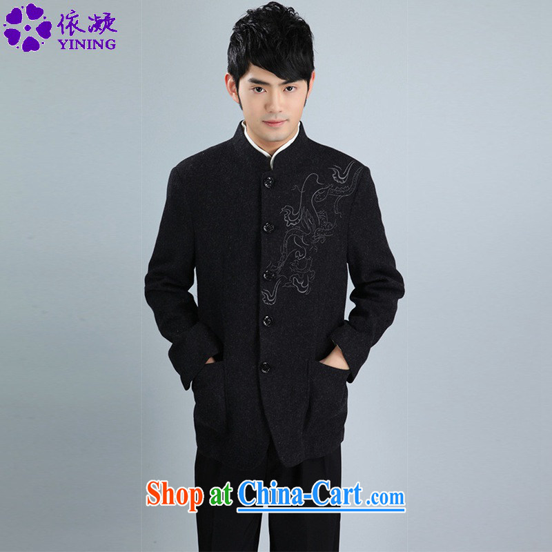 According to fuser spring stylish new men's smock, for single-tie suit Dad loaded Tang jackets WNS_2353 _3 - 3 _3 XL