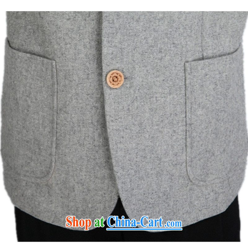 According to fuser Spring and Autumn and stylish new men's smock, for single-tie suit father with Tang jackets WNS/2353 #3 - 3 #3 XL, fuser, and shopping on the Internet