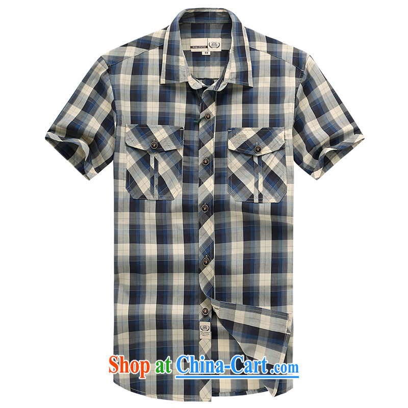 Jeep vehicles Outdoor Leisure short-sleeved shirt JP 631 blue XXXL