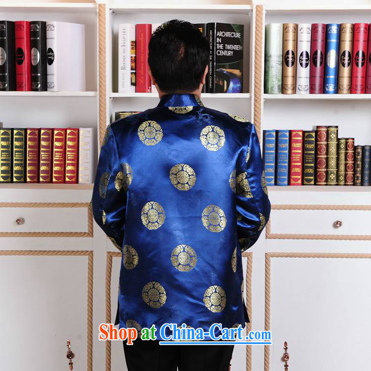 According to fuser new male Ethnic Wind load Tang has been hard-pressed a field for my father replace Tang jackets to life wedding show clothing WNS/2386 #3 - 3 #3 XL pictures, price, brand platters! Elections are good character, the national distribution, so why buy now enjoy more preferential! Health
