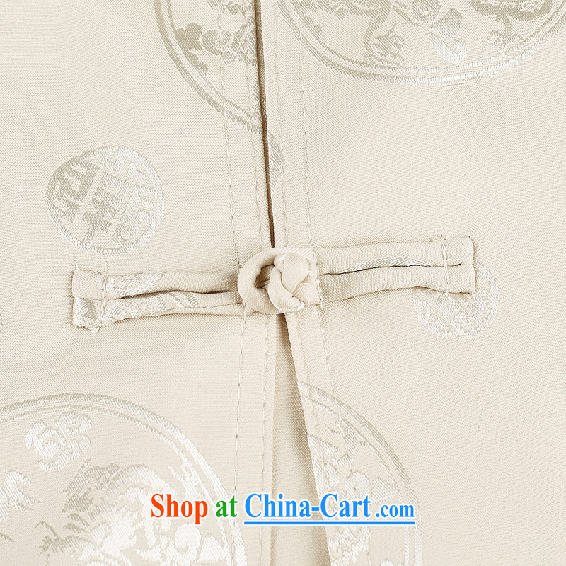 Chinese men and a short-sleeved Kit summer new short-sleeved Tang load package the Kowloon Tong on the older exercises Tai Chi uniform shirt Tang replace 1502 gray package 190, JACKE EVIS (JACK EVIS), online shopping