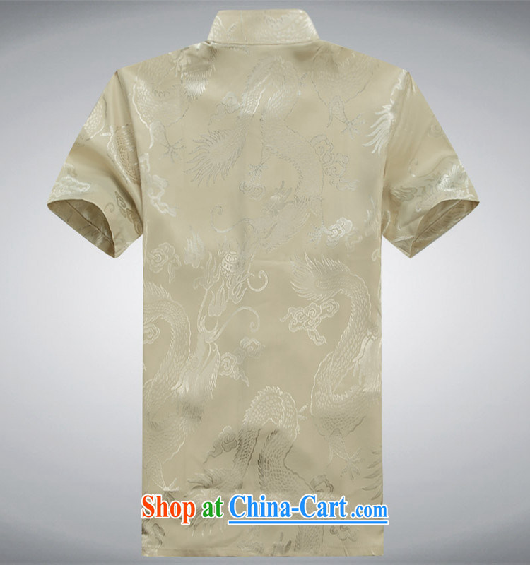 Top Luxury summer men's Chinese-buckle Tang load package short-sleeved shirt, and Chinese wind summer T-shirt men's short sleeve with large numbers of elderly grandparents summer white 180 pictures, price, brand platters! Elections are good character, the national distribution, so why buy now enjoy more preferential! Health