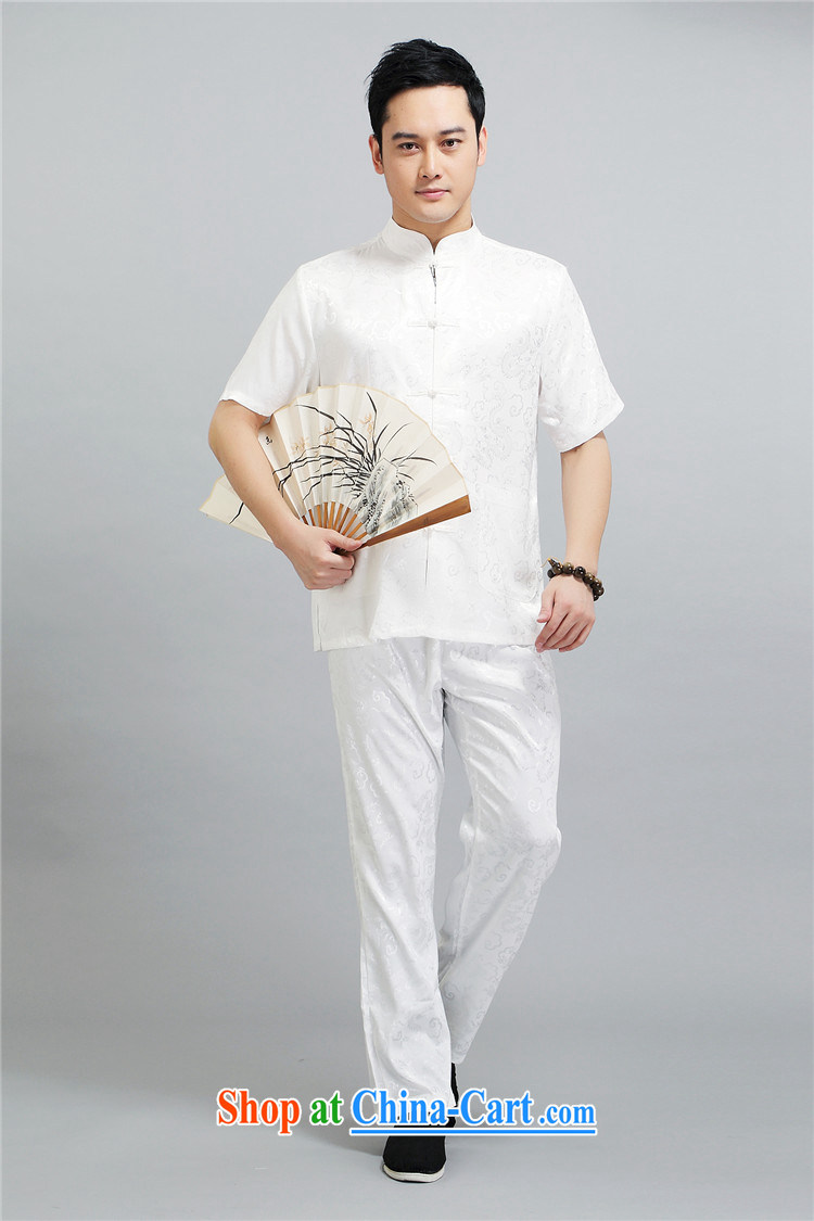 The chestnut mouse China wind men Tang in older Chinese men's short-sleeved package the code older boy summer light gray XXXXL pictures, price, brand platters! Elections are good character, the national distribution, so why buy now enjoy more preferential! Health