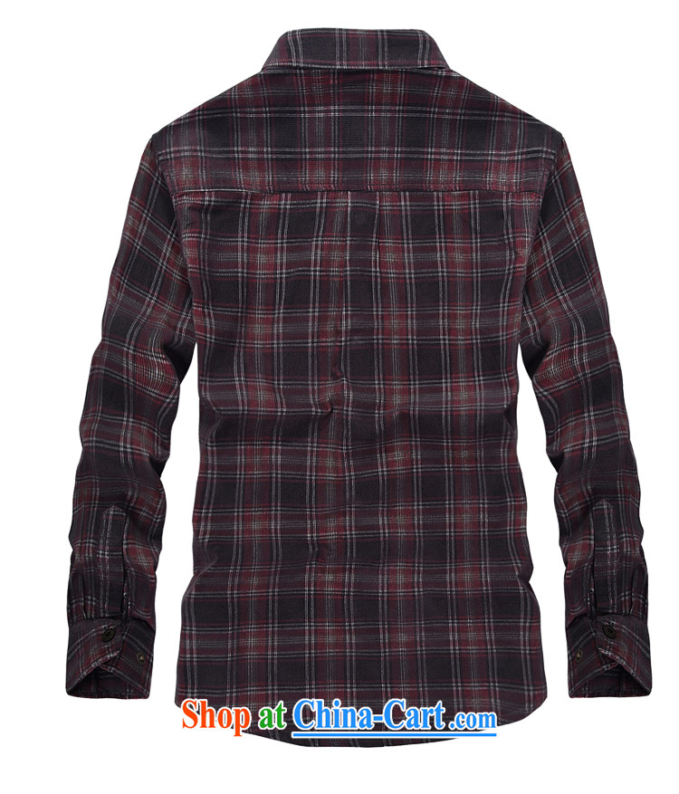 Yuen Long, jeep spring long-sleeved men wearing flowery shirts stripes checkered lapel shirt 2359 card its color L pictures, price, brand platters! Elections are good character, the national distribution, so why buy now enjoy more preferential! Health