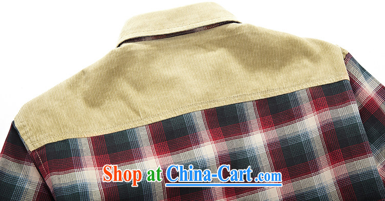Yuen Long, Roma cotton long-sleeved T-shirt men's frock and lint-free cloth stitching grid T-shirt 8353 red L pictures, price, brand platters! Elections are good character, the national distribution, so why buy now enjoy more preferential! Health