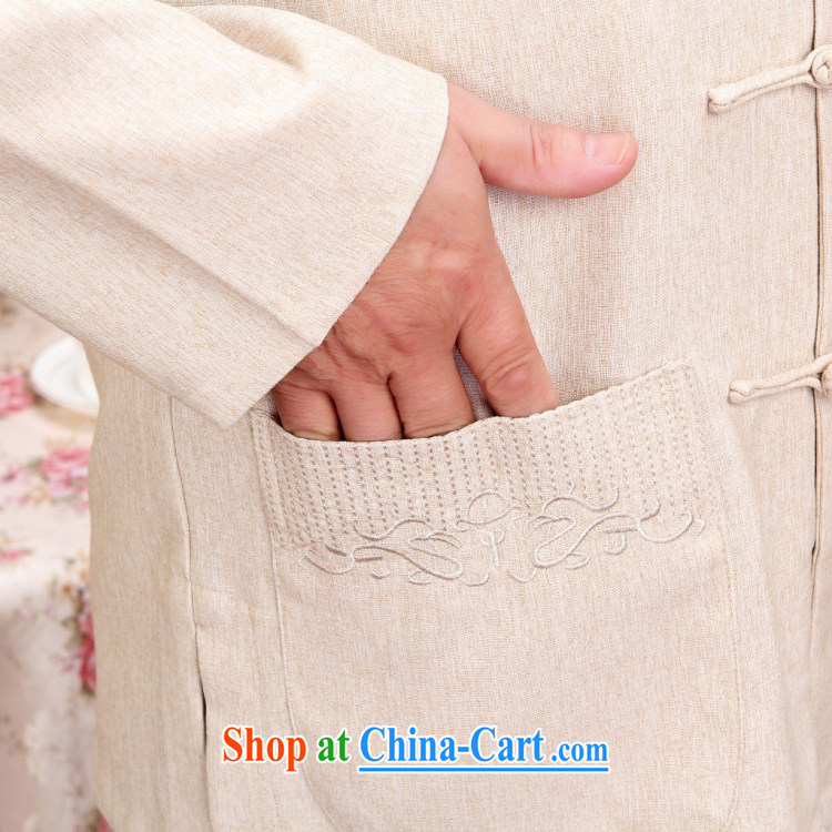 And Jing Ge older Chinese men and women couples taxi loaded spring and fall jacket cotton long-sleeved T-shirt the pants kit, white package XXXL pictures, price, brand platters! Elections are good character, the national distribution, so why buy now enjoy more preferential! Health