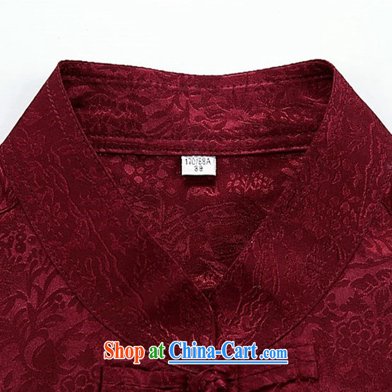 The chestnut mouse spring and summer new, older men's long-sleeved Tang replace Kit spring and summer with his father the Man ethnic wind Han-Blue Kit XXXXL, the chestnut mouse (JINLISHU), shopping on the Internet
