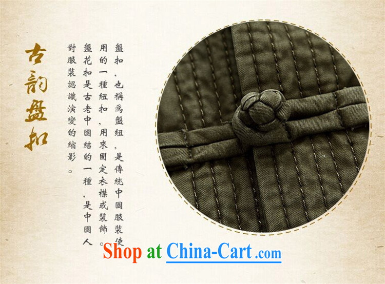The chestnut mouse spring and summer men Tang with long-sleeved middle-aged and older Chinese men and older persons Tang long-sleeved jacket and dark green XXXL pictures, price, brand platters! Elections are good character, the national distribution, so why buy now enjoy more preferential! Health