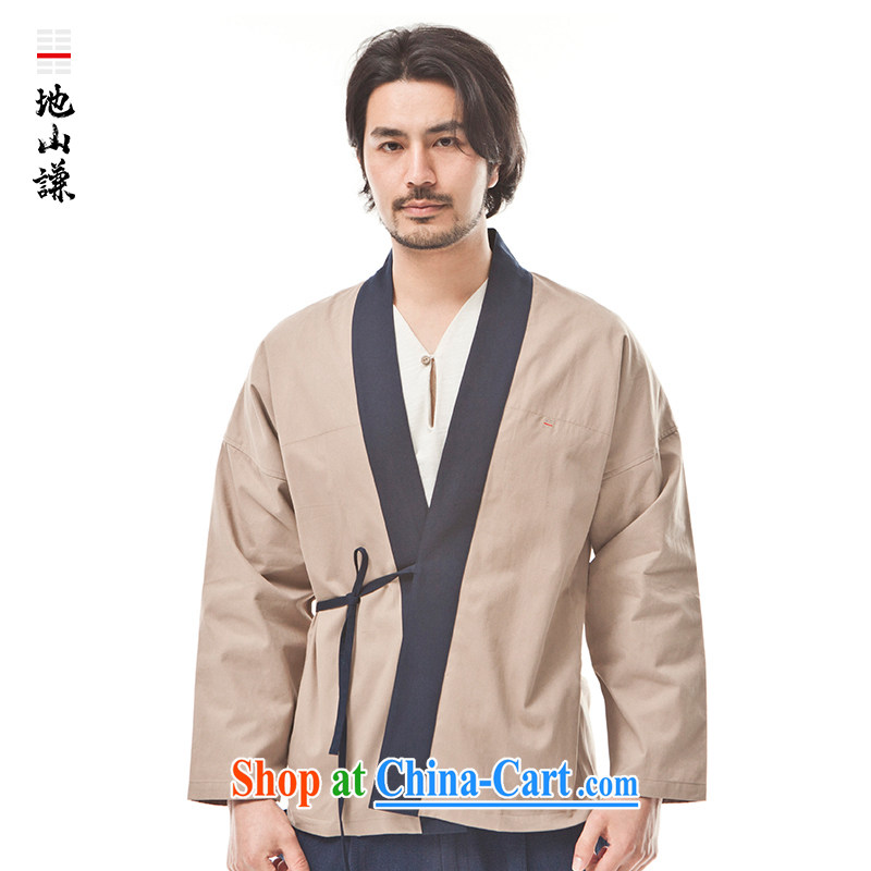 To him, Chinese style in a new, pure cotton innovation, served tea serving Chinese style meditation service T-shirt ethnic wind forces green movement (XXL), mountain-him, and, on-line shopping