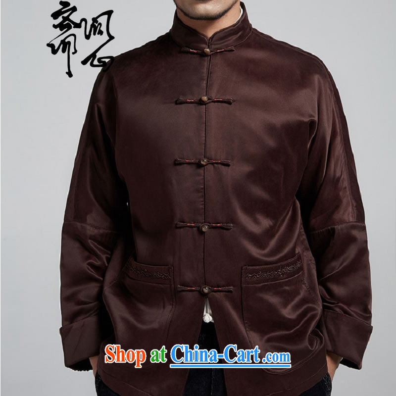 q heart Id al-Fitr (the Health new male men's upscale Chinese autumn and winter parka brigades