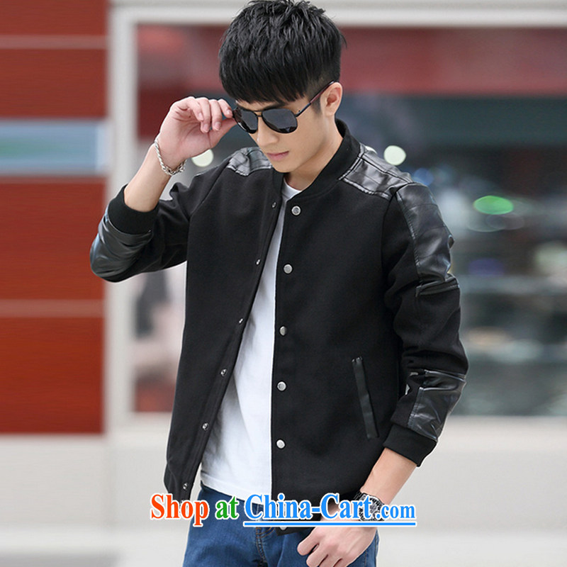 3 AR smock Chinese Xia Men's jacket men's jacket, men and Korean Beauty jacket men's 3006 black 5 XL