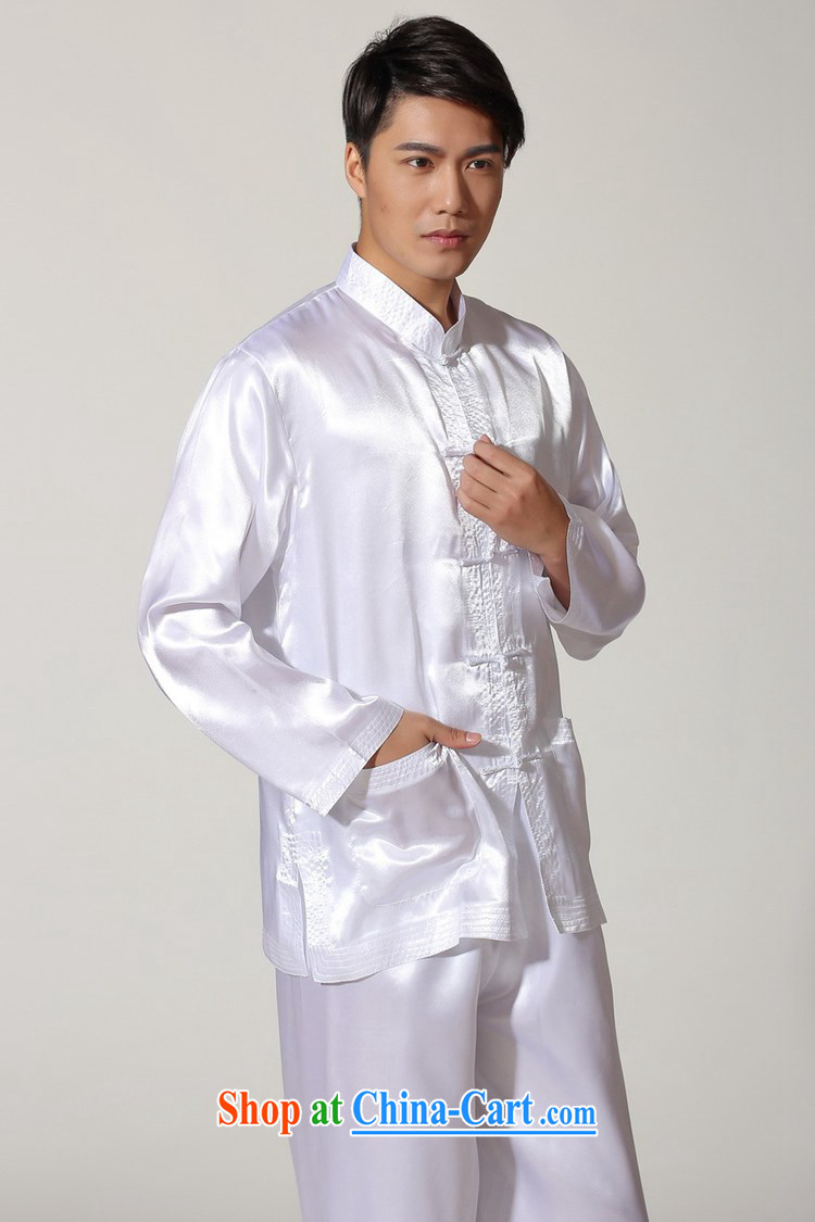 According to fuser stylish new men's Chinese improved Chinese package kung fu shirts and clothing LGD/M #3013 white 2XL pictures, price, brand platters! Elections are good character, the national distribution, so why buy now enjoy more preferential! Health