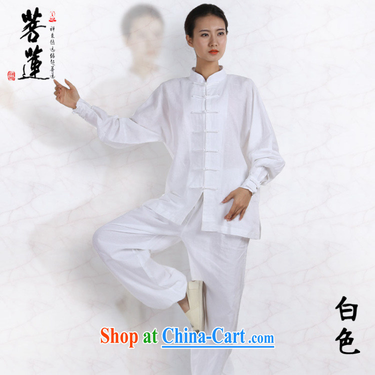 Restrictive Lin linen cotton men and women the commission autumn summer, Tai Chi, long-sleeved clothing Nepal retreat morning martial arts practitioners performing service brown XL pictures, price, brand platters! Elections are good character, the national distribution, so why buy now enjoy more preferential! Health