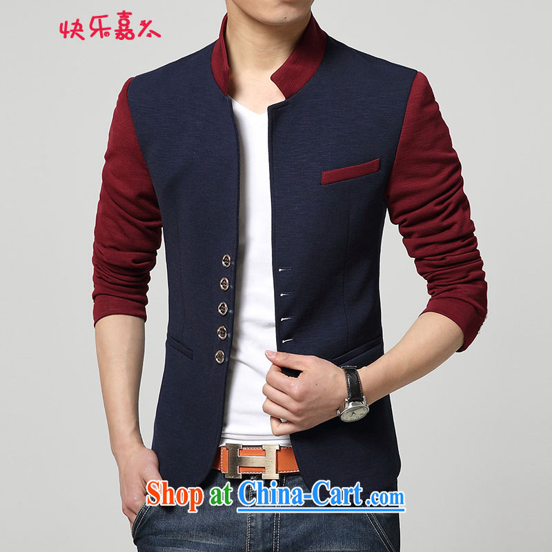 Happy Ka, male Korean version, who wore smock 8985 Male Blue XXXL
