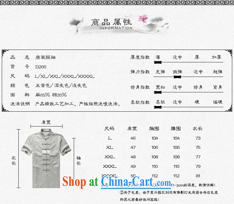 Chinese men and short sleeve T-shirt with new summer, men's cotton Ma Tang replace older Tang replace short-sleeved father replace D 236 blue-black kit XXXL pictures, price, brand platters! Elections are good character, the national distribution, so why buy now enjoy more preferential! Health
