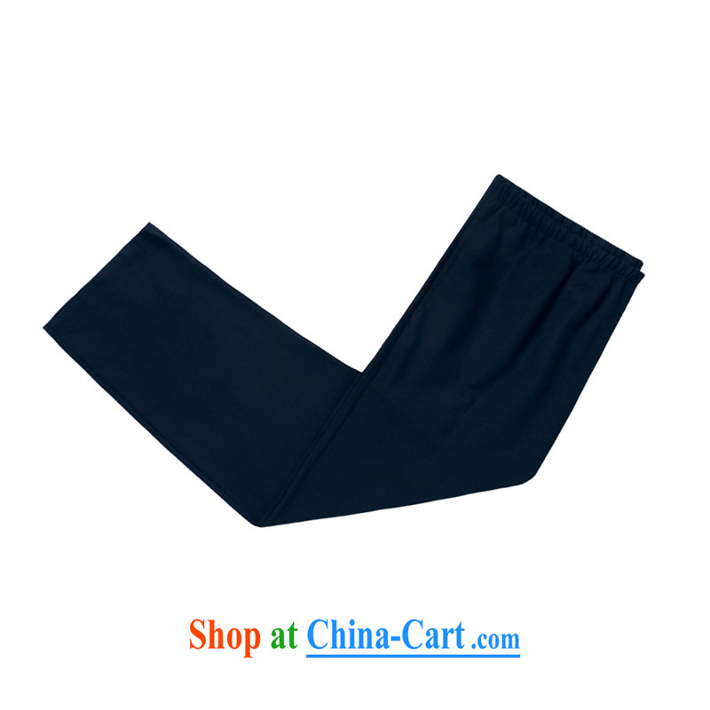 Tang is the short sleeve T-shirt with new summer, men's cotton The tang on the older Chinese short-sleeved father replace D 236 blue-black kit XXXL, refused to Disney's Prince (CANDYPRINCE), and, on-line shopping