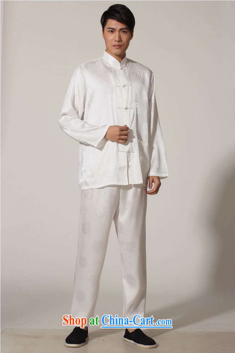 Ko Yo vines into exciting and 2015 New Men's Tang is a solid color kit Tang replace the collar long-sleeved T-shirt kung fu set damask Chinese leisure and tai chi uniforms M聽M 0049 0049 - B XXL pictures, price, brand platters! Elections are good character, the national distribution, so why buy now enjoy more preferential! Health