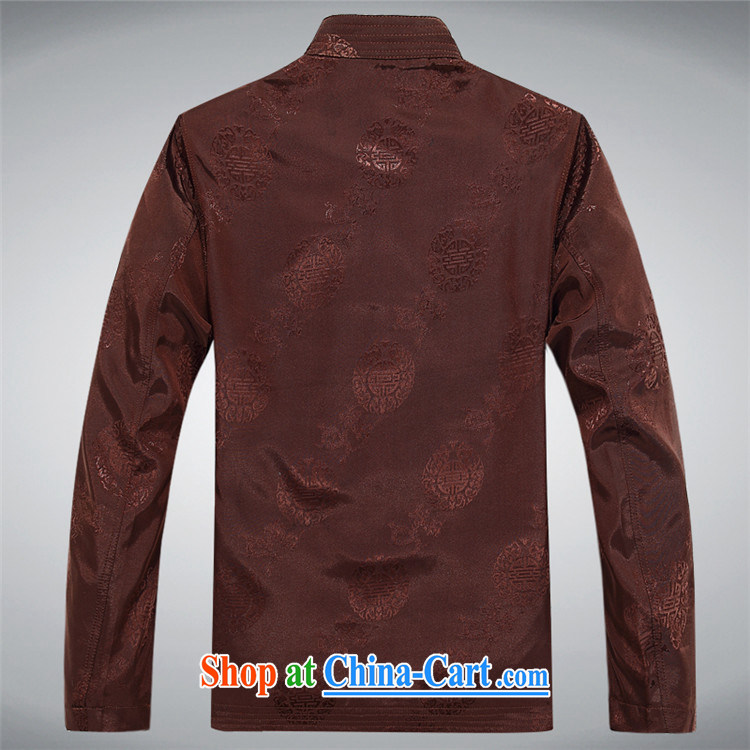 The spring, summer, new Chinese wind older Chinese men's jacket coat long-sleeved Grandpa loaded Chinese clothing red XXXL pictures, price, brand platters! Elections are good character, the national distribution, so why buy now enjoy more preferential! Health