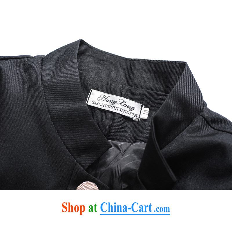 Dan Jie Shi The 2015 spring Korean tide college wind and men, for cultivating leisure smock spring men's suit black suit quality fabrics XXL, Dan Jie Shi (DAN JIE SHI), online shopping